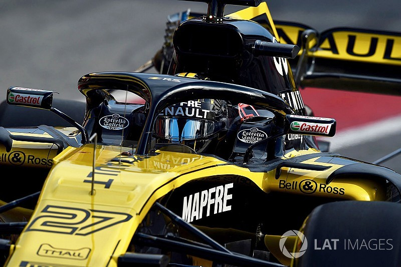 How Renault has coped with the halo's aero impact
