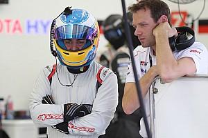 WEC Новость Алонсо тестирует Toyota LMP1: первые фото