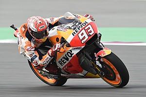 MotoGP Crónica de entrenamientos Márquez fue el más rápido antes del GP de Qatar
