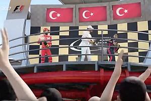 FORMULA 1 LİGİ Son dakika Monza'da Bölükbaşı son virajda kazandı