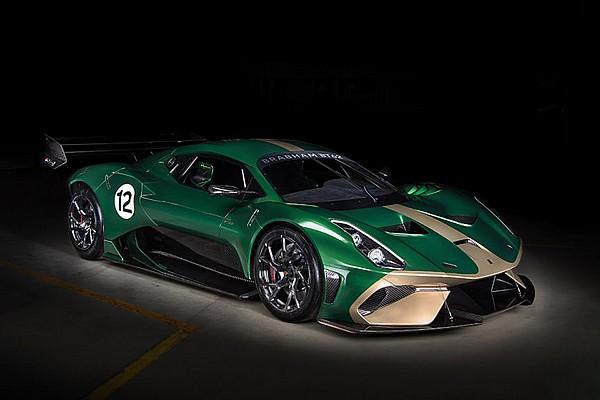 Brabham reveals £1 million track car