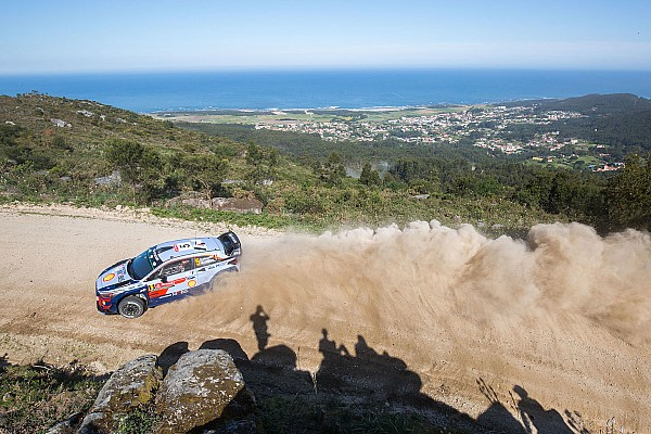 WRCポルトガル金曜:ヌービル首位。オジェ&トヨタ勢に相次ぐトラブル