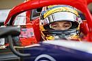 FIA F2 Ferrucci avait demandé une livrée pro-Trump