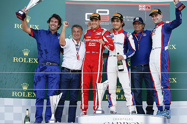 GP3 Race report Silverstone GP3: Piquet leads all-Trident podium