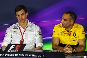 Formel 1 News Formel-1-Motoren 2021: Erster Widerstand unter den Herstellern
