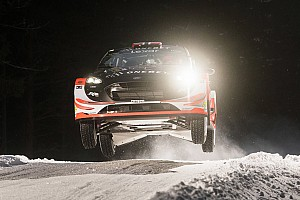 WRC Stage report Ostberg tops Rally Sweden shakedown on WRC comeback