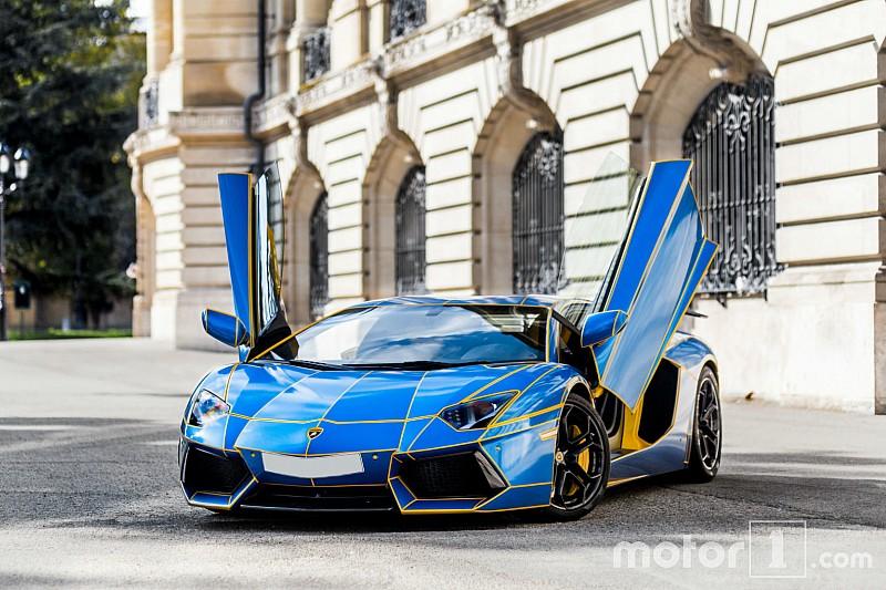 Découvrez une Lamborghini Aventador