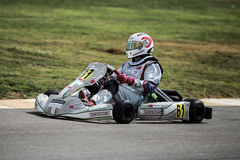 Karting şampiyonası İzmir'de devam ediyor