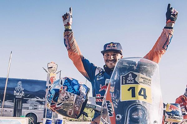 "Dakar Sunderland ""cried like a wimp"" after clinching Dakar title"