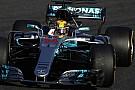 Formule 1 Hamilton: Parler du titre ce week-end,