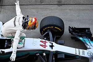 Формула 1 Избранное История фотографии: эмоциональный Хэмилтон в закрытом парке «Сузуки»