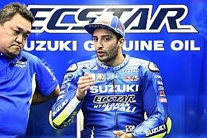 """MotoGP Noticias Iannone: """"Hemos vuelto a la puesta a punto del test de Valencia"""""""