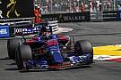 Formule 1 Kvyat critique la Toro Rosso malgré la performance de Sainz