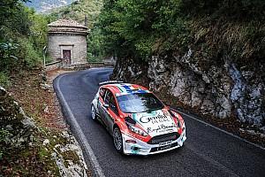 ERC Отчет о гонке Буфье выиграл этап ERC в Риме с преимуществом в 0,3 секунды