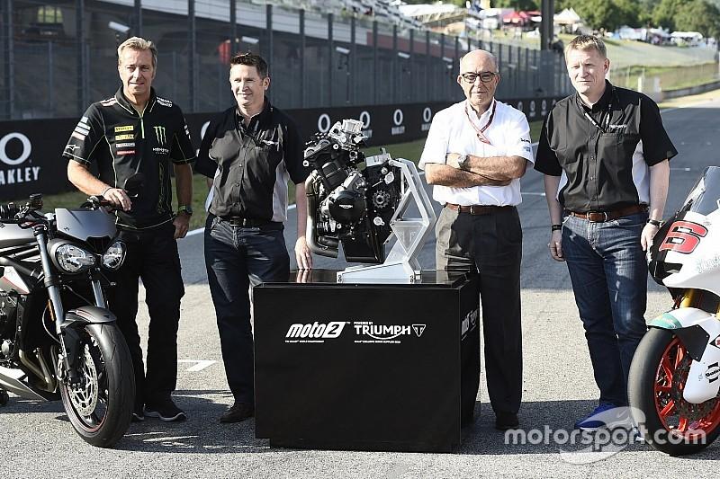 Oficializado el acuerdo de tres años para que Triumph motorice las Moto2 a partir de 2019