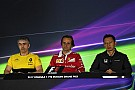 Formula 1 Russian GP: Friday's press conference