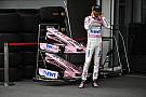 Force India показала новую розовую форму гонщиков