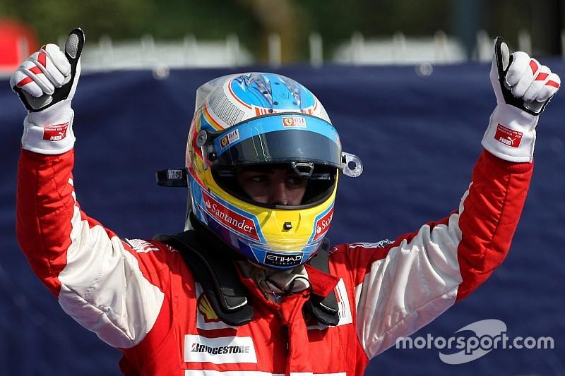 """És """"megszólalt"""" a spanyol himnusz a Ferrari bokszában…"""