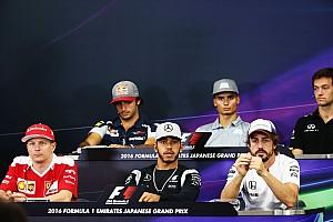 Formula 1 Press conference Japanese GP: Thursday's press conference