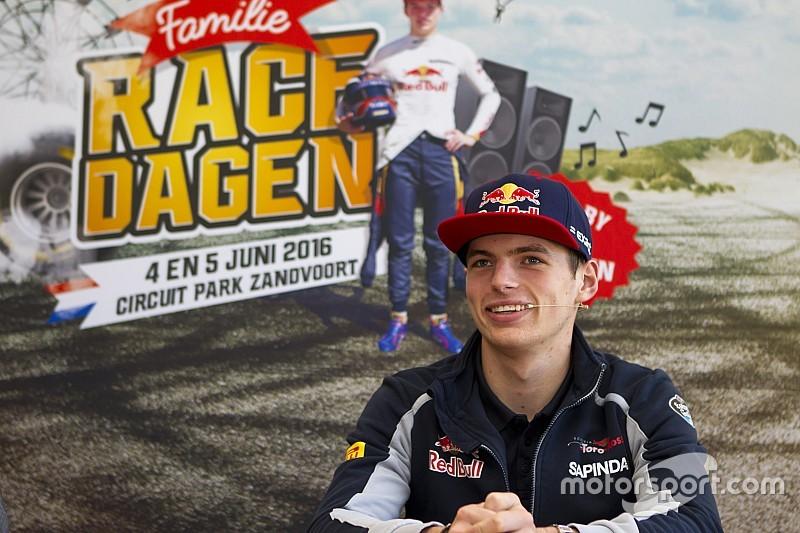 Video: Max Verstappen maakt zich op voor zijn 'racefeest'
