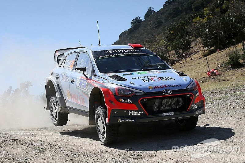 Podium hat-trick for Hyundai Motorsport as Dani Sordo rides Mexican wave to third