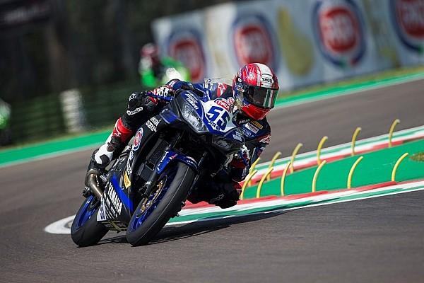 World Superbike Practice report WorldSSP300 Imola: Adrian temani Galang ke Superpole 2