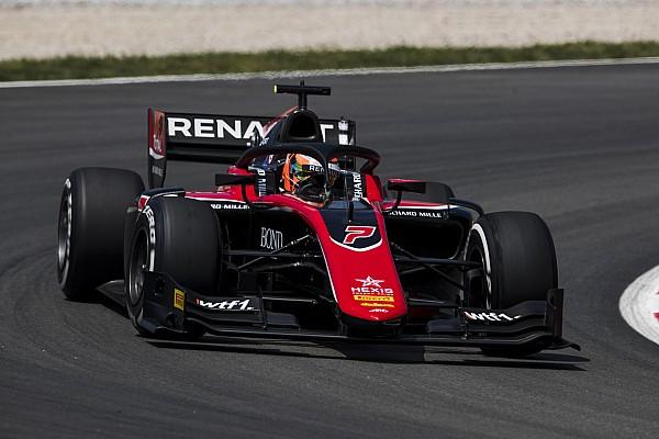 FIA F2 Race report Barcelona F2: Aitken scores maiden win in sprint race