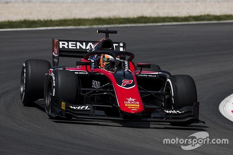 Aitken gana la segunda carrera de la F2 en Barcelona
