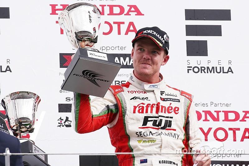 Fuji Super Formula: Cassidy takes maiden win