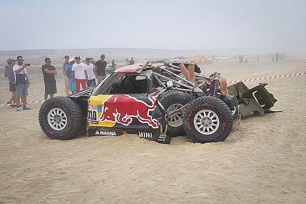 La debacle de los buggy de MINI en el Dakar 2018