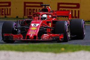 "Fórmula 1 Últimas notícias Vettel lamenta erro, mas avisa: ""em ritmo, estamos próximos"""