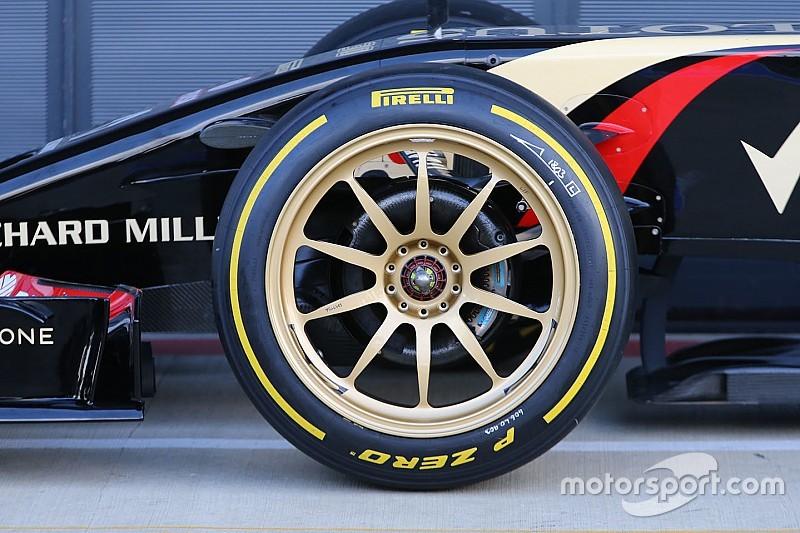 La Fórmula 1 vuelve a pensar en usar llantas de 18 pulgadas