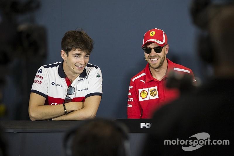 Vettel über neuen Teamkollegen: Leclerc