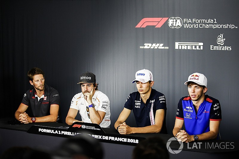 French GP: Thursday's press conference
