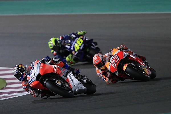 MotoGP Raceverslag Dovizioso verslaat Marquez na klassieke laatste ronde Grand Prix van Qatar
