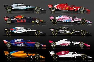 Galería: Estos son los equipos F1 2018