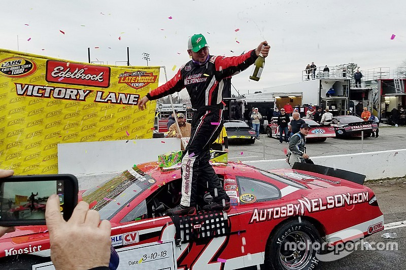 Bobby McCarty pulls away late and wins CARS Tour season opener