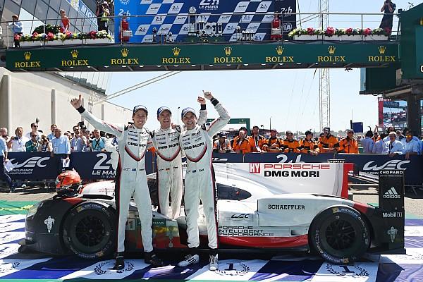 Le Mans 24 Jam: Kemenangan ke-19 Porsche setelah balapan dramatis