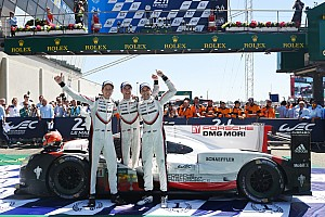 Le Mans Livefeed Le Mans 24 Saat - #2 Porsche, Alman markaya 19. zaferini getirdi