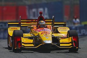 IndyCar Résumé d'essais libres EL2 - Hunter-Reay avant l'arrivée de la pluie