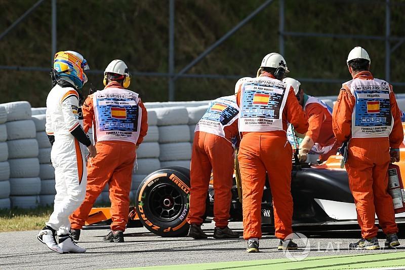 McLaren-Honda'nın 2017 düşüşü Alonso'yu