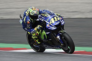 MotoGP Breaking news Rossi, Vinales hobbled by rear tyre drop-off in Austria