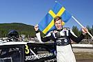 World Rallycross Kristoffersson s'imposeà domicile, Loeb sur le podium