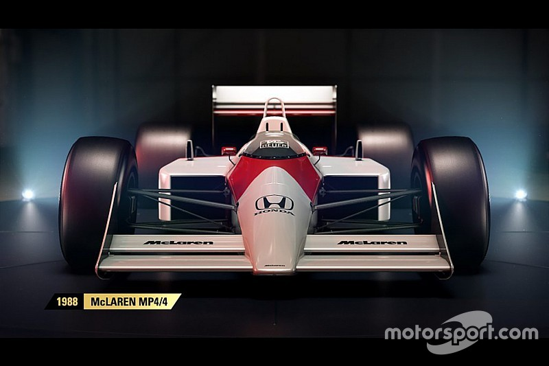 F1 2017: ecco la lista completa delle vetture storiche del videogioco