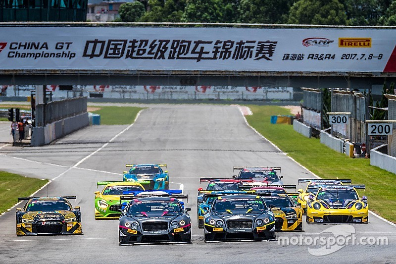 China GT Championship wide open after challenging Zhuhai round
