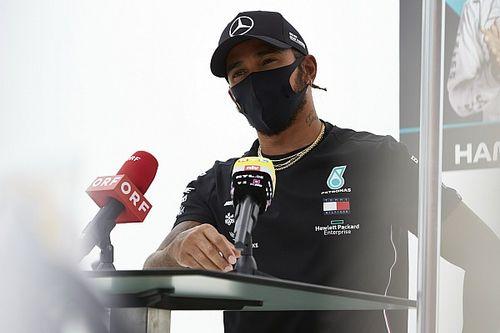 Hamilton diz que fará dança para não chover e chefe admite problema em carro
