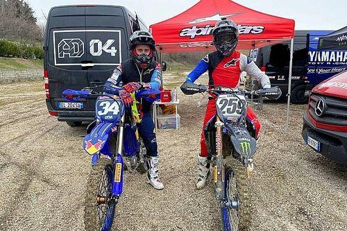 Jelang Tes bersama Aprilia, Dovizioso Berlatih Motocross