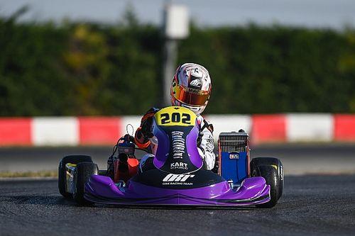 Rafa Câmara inicia disputa por mais um título no kartismo europeu