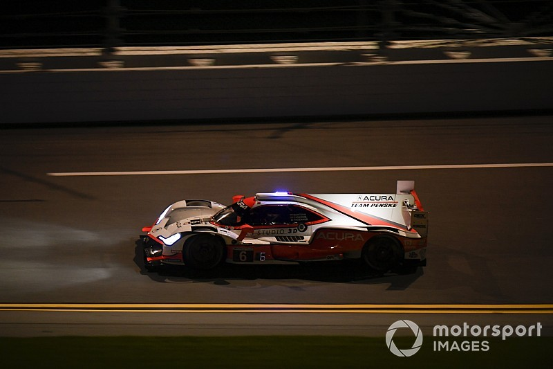 Rolex 24, Hour 8: Cameron leads in Acura, Ferrari tops GTLM