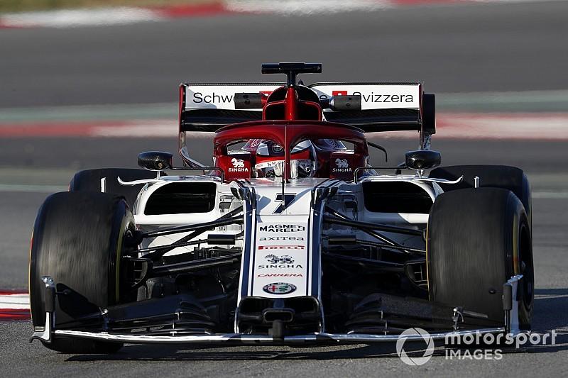Raikkonen zet volgende stap met sterk Alfa en werkt aan afstelling